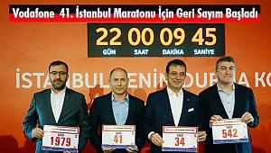 Vodafone41. İstanbul Maratonuİçin Geri Sayım Başladı