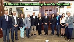 11. Küresel Isınma Kurultayı İzmir'de Yapılacak