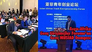 Asya-Afrika Genç Girişimciler Forumu'na Genç MÜSİAD Damgası