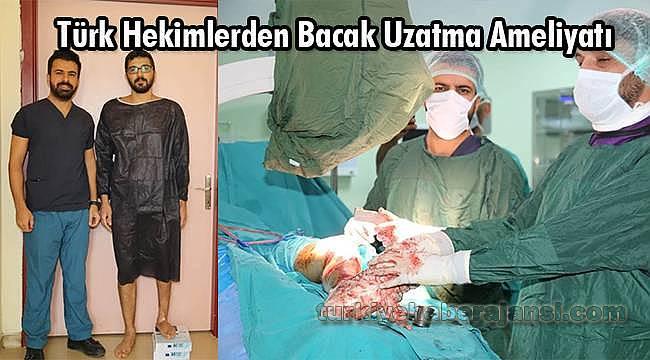 Bacak Uzatma Ameliyatı Yapıldı