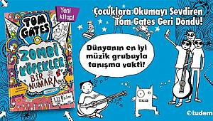 Çocuklara Okumayı Sevdiren Tom Gates Geri Döndü!