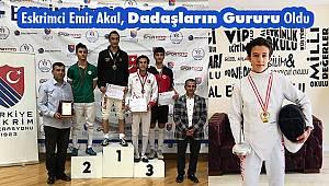 Eskrim'de Erzurum Rüzgârı; Emir Akal Bronz Madalya Kazandı