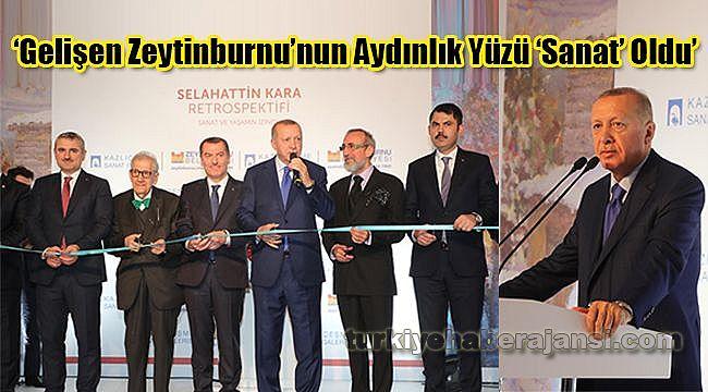 'Gelişen Zeytinburnu'nun Aydınlık Yüzü 'Sanat' Oldu'