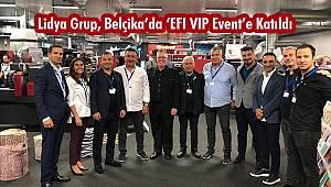 """Lidya Grup, Belçika'da """"EFI VIP Event""""e Katıldı"""