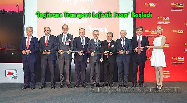 'logitrans Transport Lojistik Fuarı' Başladı