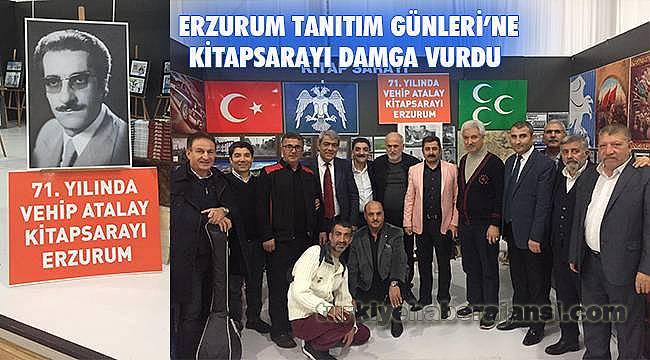 'Maltepe-Erzurum Tanıtım Günleri'ne Kitapsarayı Damga Vurdu