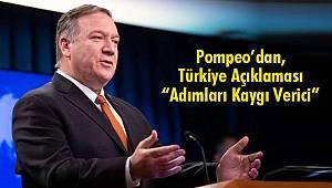 Pompeo'dan, Türkiye Açıklaması