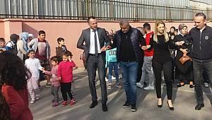 Sancaktepe'de veliler ve öğretmenler gönüllerince eğlendiler