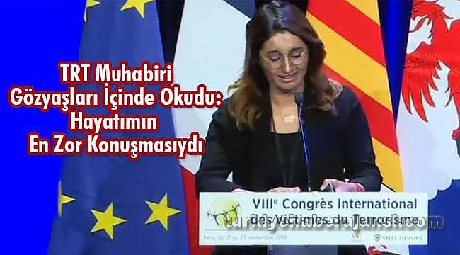 TRT Muhabiri Gözyaşları İçinde Okudu