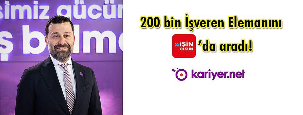 200 bin İşveren Elemanını İşin Olsun'da aradı!