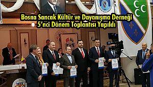 Bosna Sancak Kültür ve Dayanışma Derneği 5'nci Dönem Toplantısı Yapıldı