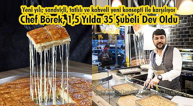 Chef Börek, 1,5 Yılda 35 Şubeli Dev Oldu