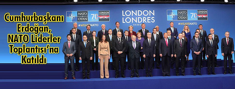Cumhurbaşkanı Erdoğan, NATO Liderler Toplantısı'na Katıldı