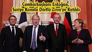 Cumhurbaşkanı Erdoğan, Suriye Konulu Dörtlü Zirve'ye Katıldı