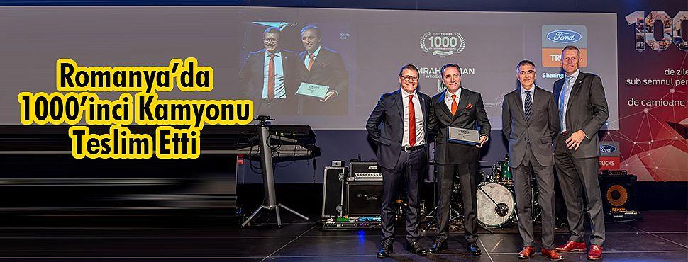 Ford Trucks, 2 Yılda Romanya'daki 1000 Araçlık Satışa Ulaştı
