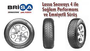 Lassa Snoways 4 ile Sağlam Performans ve Emniyetli Sürüş