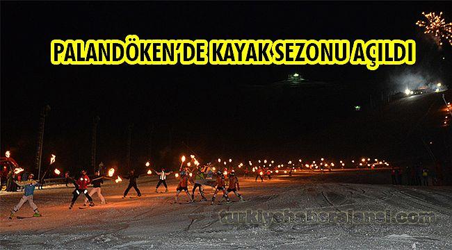 Palandöken'de Kayak Sezonu Açıldı