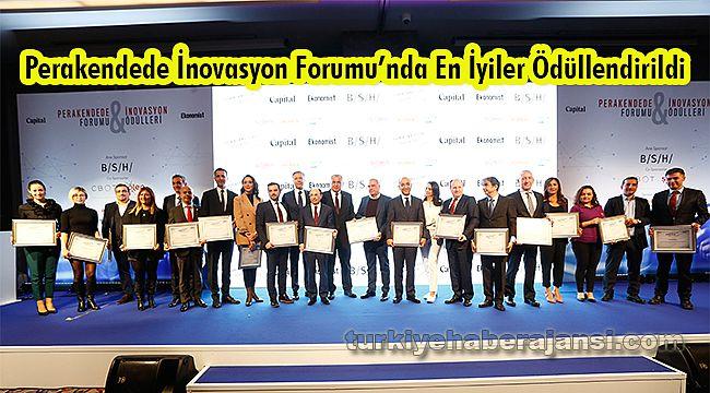 Perakendede İnovasyon Forumu'nda En İyiler Ödüllendirildi