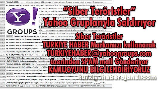 """""""Siber teröristler"""" Yahoo Gruplarıyla Saldırıyor"""