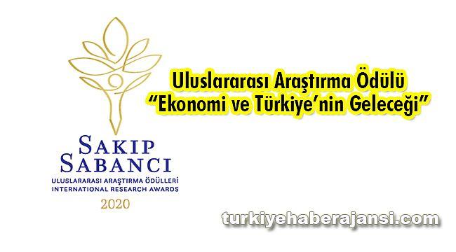 2020 Sakıp Sabancı Ödülü 'Ekonomi ve Türkiye'nin Geleceği'
