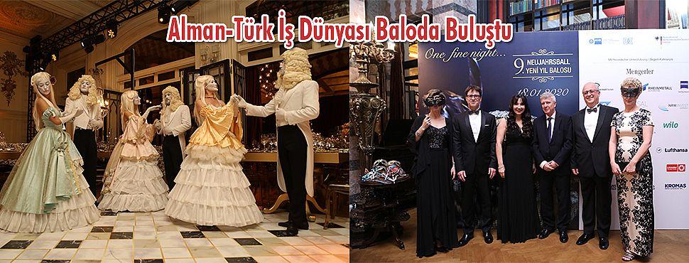 Alman-Türk İş Dünyası Baloda Buluştu