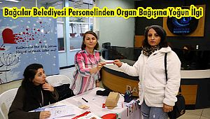 Bağcılar Belediyesi Personelinden Organ Bağışına Yoğun İlgi