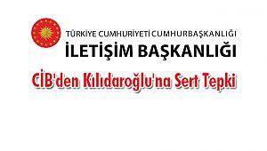 CİB'den Kılıdaroğlu'na Sert Tepki
