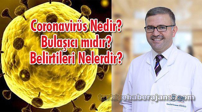 Coronavirüs Nedir, Bulaşıcı mıdır, Belirtileri Nelerdir?