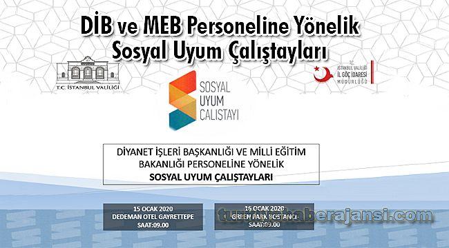 DİB Ve MEB Personeline Yönelik Sosyal Uyum Çalıştayları