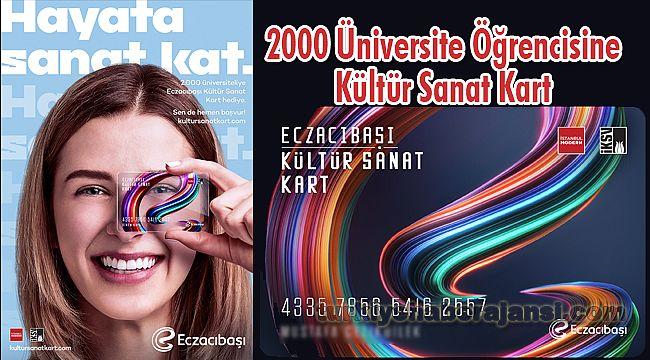 Eczacıbaşı'ndan 2000 üniversite öğrencisine Kültür Sanat Kart