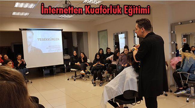 İnternetten Kuaförlük Eğitimi