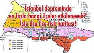 İstanbul Depreminde En Fazla Hangi İlçeler Etkilenecek?