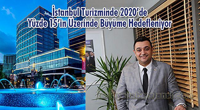 İstanbul Turizminde 2020'de Yüzde 15'in Üzerinde Büyüme Hedefleniyor