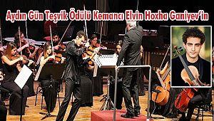 Kemancı Elvin Hoxha Ganiyev'e İKSV'den Ödül