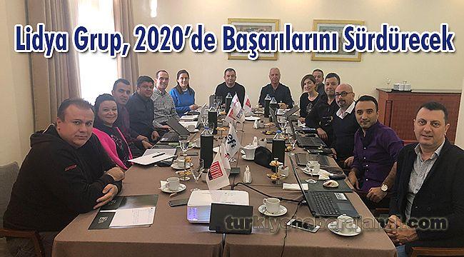 Lidya Grup, 2020'de Başarılarını Sürdürecek