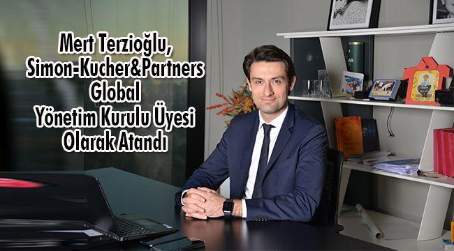 Mert Terzioğlu, Simon-Kucher&Partners Global Yönetim Kurulu Üyesi Olarak Atandı