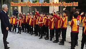 Nusaybinli Öğrenciler Adnan Polat'ı Ziyaret Etti