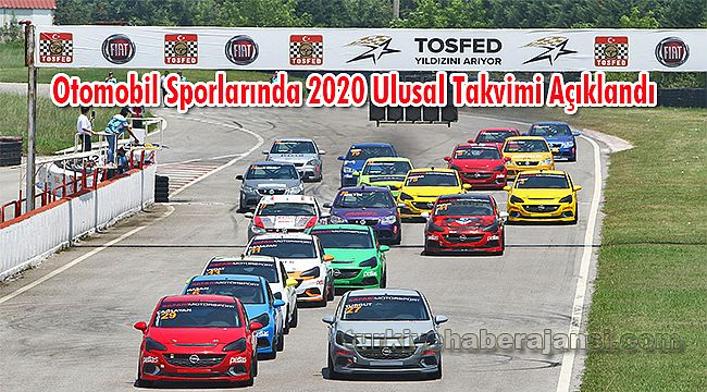 Otomobil Sporlarında 2020 Ulusal Takvimi Açıklandı