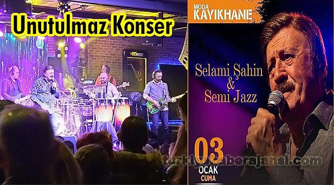 Selami Şahin ve Semijazz Orkestrası'ından Unutulmaz Konser