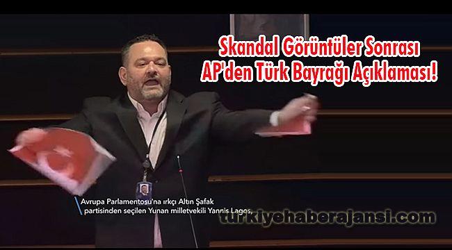 Skandal Görüntüler Sonrası AP'den Türk Bayrağı Açıklaması!
