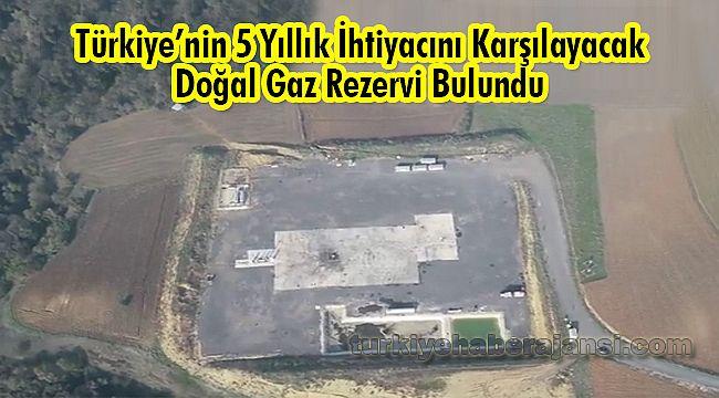 Türkiye'nin 5 Yıllık İhtiyacını Karşılayacak Doğal Gaz Rezervi Bulundu