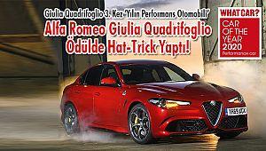 Alfa Romeo Giulia Quadrifoglio Ödülde Hat-Trick Yaptı!