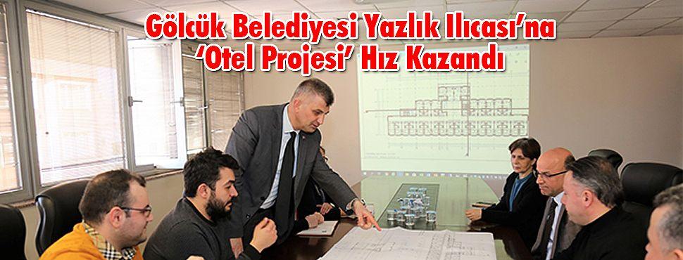 Gölcük Belediyesi Yazlık Ilıcası'na 'Otel Projesi' Hız Kazandı