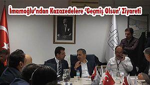İmamoğlu'ndan Kazazedelere 'Geçmiş Olsun' Ziyareti