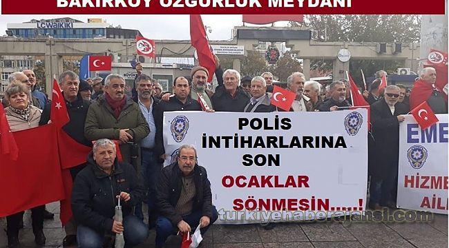 İstanbul'da Polis intiharları için Basın Açıklaması düzenlenecek