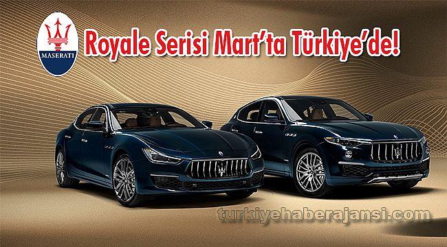 Maserati Royale Serisi Mart'ta Türkiye'de!