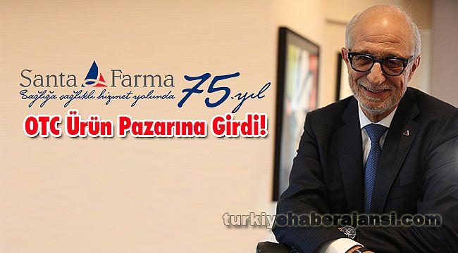 Santa Farma OTC Ürün Pazarına Girdi!