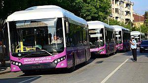 Belediye otobüsün renkleri için anket başlattı