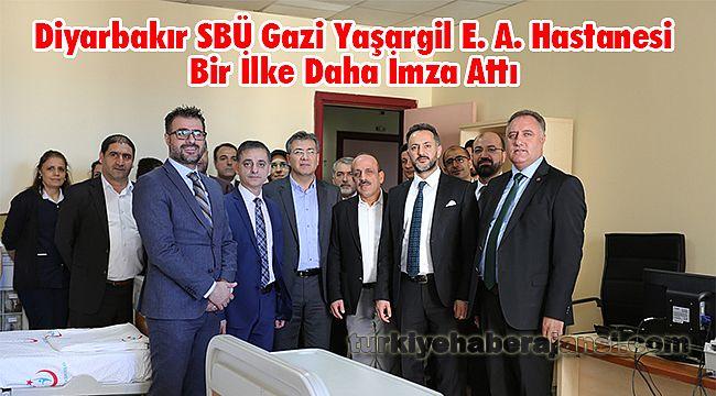 Diyarbakır SBÜ Gazi Yaşargil E. A. Hastanesi Bir İlke Daha İmza Attı