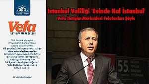 İstanbul Valiliğinden 'Evinde Kal İstanbul' Çağrısı